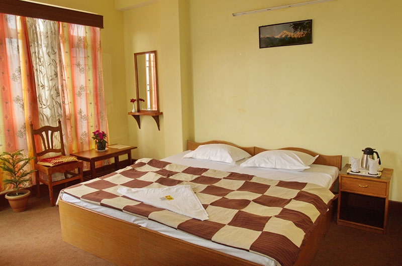 Hotel Green Park, Gangtok - Deluxe Double with Balcony